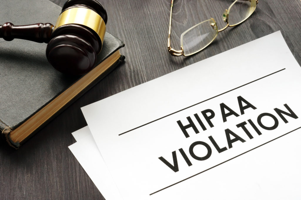 HIPAA violation fines
